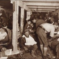 Scene in an Advanced Dressing Station During a Battle
