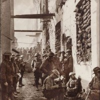 The Battle-Scarred Barracks Ypres