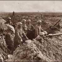 Scene In The Trenches